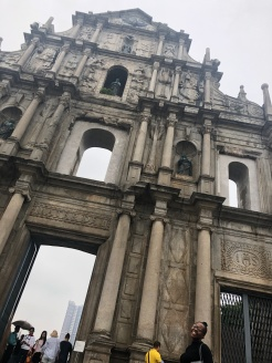 Leaving only its exterior post the burning in 1835, what was left of St. Paul's Church has been standing tall for several decades, now a tourist hot spot